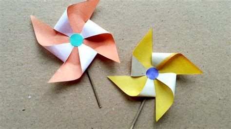 How To Make Windmills Out Of Paper - make paper windmill diy guidecentral