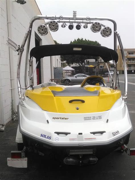 seadoo boat ladder sea doo sportster 4 tec scic 2005 for sale for 15 000