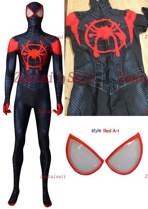 Pdf Spider Morales Costume For Sale by 2018 Spider Into The Spider Verse Morales Isv