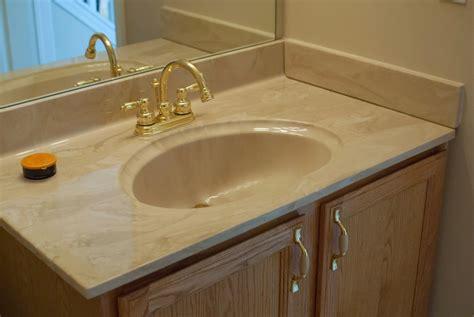 Sink Countertop remodelaholic painted bathroom sink and countertop makeover
