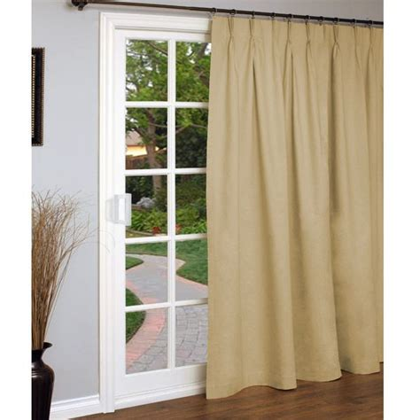 Pinch Pleat Patio Door Panel by Pin By Barbara Delaney On Lake Townhouse