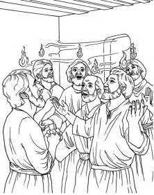 pentecost color el d 237 a de pentecost 233 s coloring page