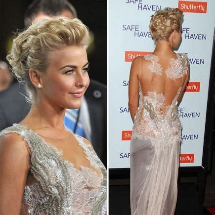 how to the famous julianne hough updo 15 glamorous updos for short hair updos julianne hough