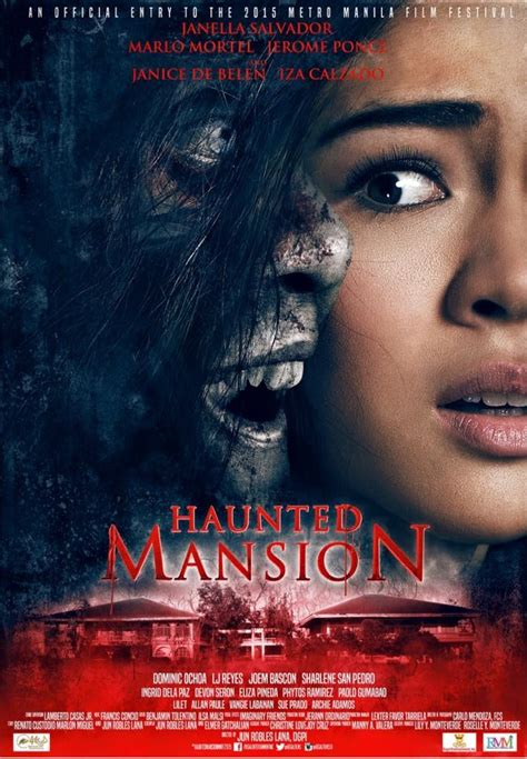 film recommended november 2015 my movie world haunted mansion official poster and