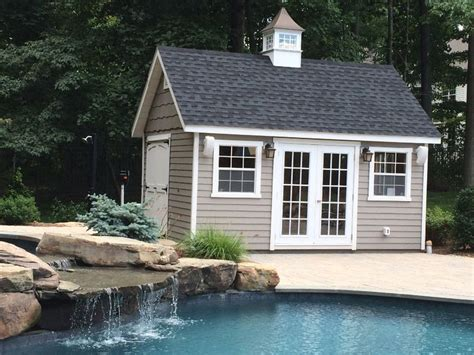pool shed ideas best 20 pool house shed ideas on pool shed