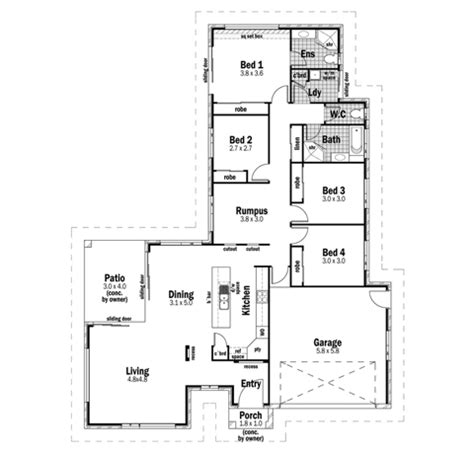 sovereign homes floor plans sovereign 23 design detail and floor plan integrity new homes mid coast