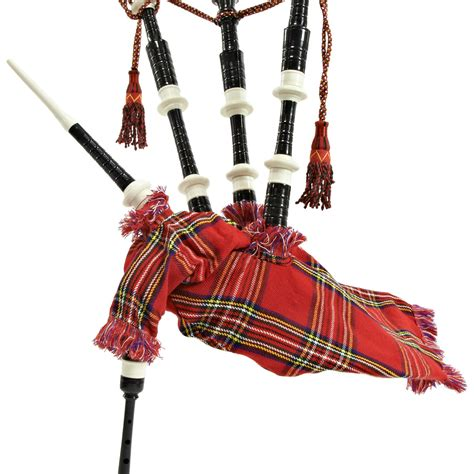 nearly new deluxe bagpipes by gear4music royal stewart nearly new