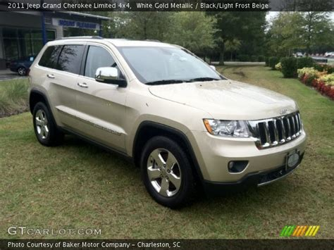 gold jeep interior white gold metallic 2011 jeep grand limited 4x4