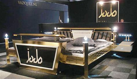 expensive futon jado steel style gold bed listotop