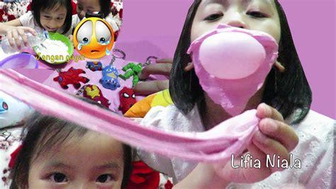 membuat slime gagal cara membuat mainan slime anak anti gagal dengan slime