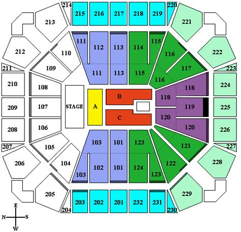 united seating chart paul mccartney united supermarkets spirit arena tickets
