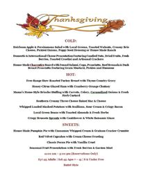 Kitchen Kabaret Thanksgiving Menu Doubletree By Denver Tech Center Welcomes Guests To