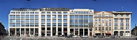 berlin architekt berliner architektur im linearen panorama panoramastreetline