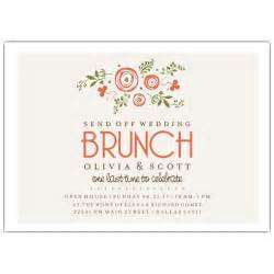 brunch invitations bunches of wedding brunch invitations paperstyle