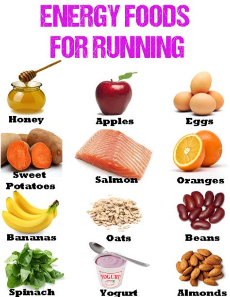 energy foods for running what to eat when running daily