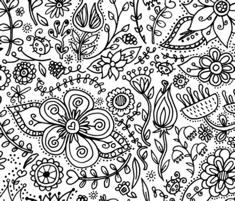 coloring book wallpaper coloring page wallpaper decor for spoonflower