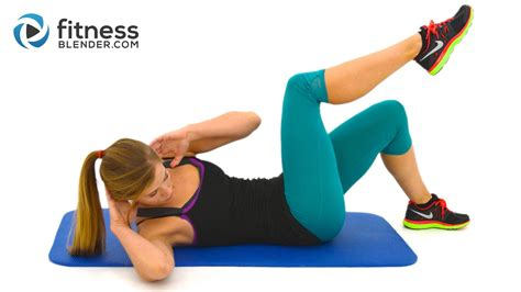 10 minute abs workout at home abs and obliques