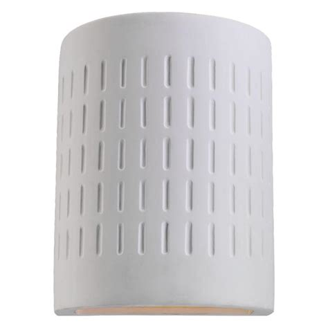 Ceramic Outdoor Lighting Sea Gull Lighting 1 Light Paintable Ceramic Outdoor Wall Sconces 83046 714 The Home Depot