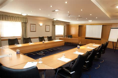 Free Meeting Rooms by Modern Office Meeting Room Design With Brown Laminated Wooden U Shaped Meeting Table Plus Black