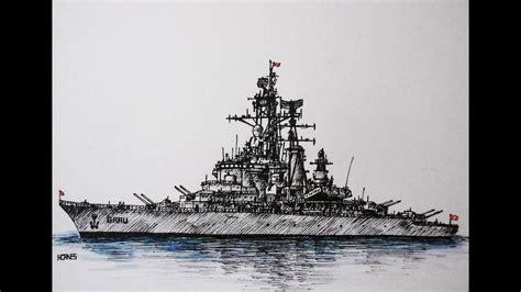 barco guerra dibujo como dibujar un barco de guerra how to draw a battleship