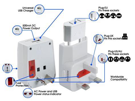 world travel adapter usb charging port adjustable power plugs 3 in 1 tmh k72 2gen us 4 79