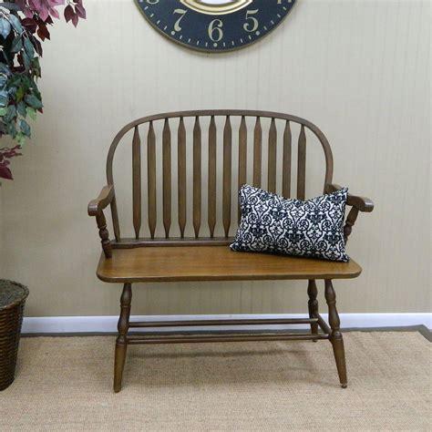 carolina bench carolina cottage windsor bench in american oak 42 ao the