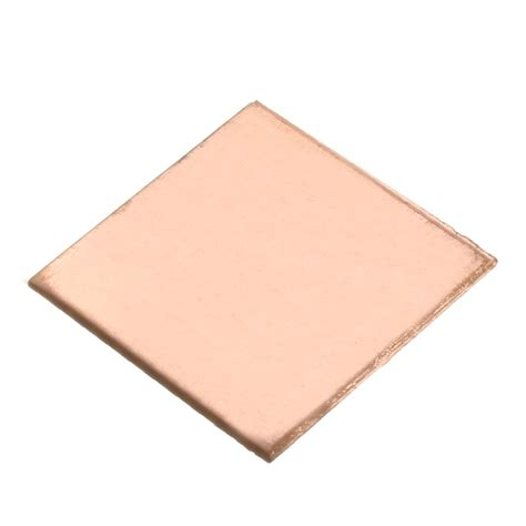 Heatsink Laptop 5 10pcs 0 1mm 0 3mm 0 5mm 0 8mm laptop heatsink sheet copper sheet plate shim thermal pad