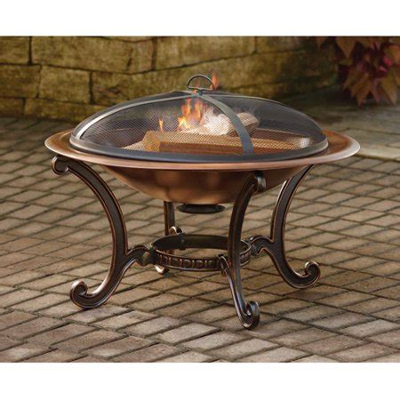 better homes and gardens faux copper pit