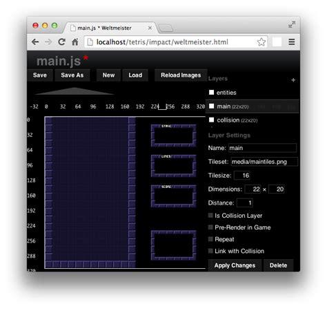 tetris layout min js tutorial tetris with impact js chris on code
