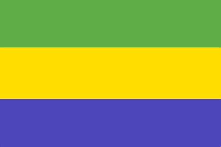 map of north america pictures gabon flag and description