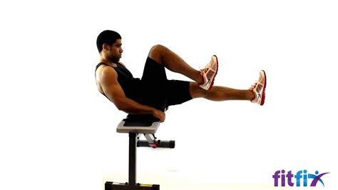 crunch bench exercises bench bicycle crunch fx gym exercise tutorial youtube