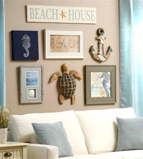 coastal beach cottage wall decor ideas http www