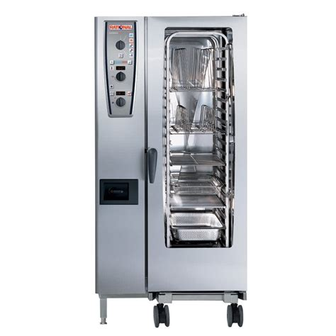 Oven Rational rational combimaster plus model 201 a219206 27e202 combi oven with twenty half size sheet pan