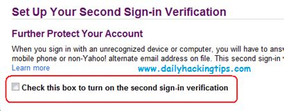 yahoo email verification code not working how to secure yahoo account from hackers by