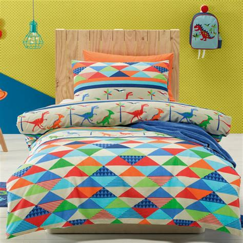 bedding sets for kids 2pcs dinoland bedding set for children kids cartoon printed pattern single bed duvet