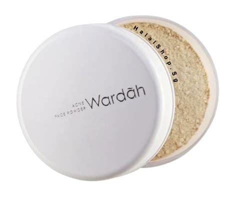 Bedak Acne Powder Halal Cosmetics Singapore Wardah Acne Powder More