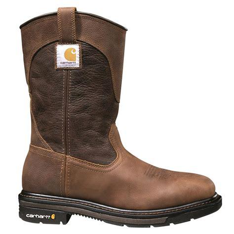 carhartt steel toe work boots carhartt s 11 quot steel toe square toe wellington work