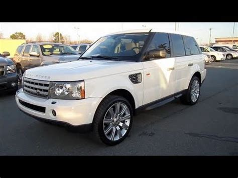 2008 range rover sport engine 2008 range rover sport supercharged start up engine in