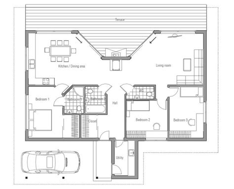 small simple house plan pole barn house plans