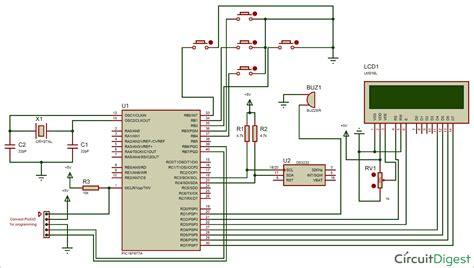 pic microcontroller picfa based digital alarm clock