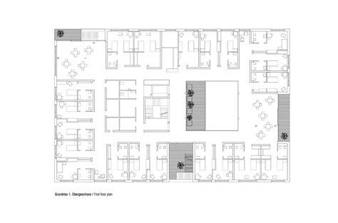 nursing home floor plan exles gallery of nursing and retirement home dietger wissounig