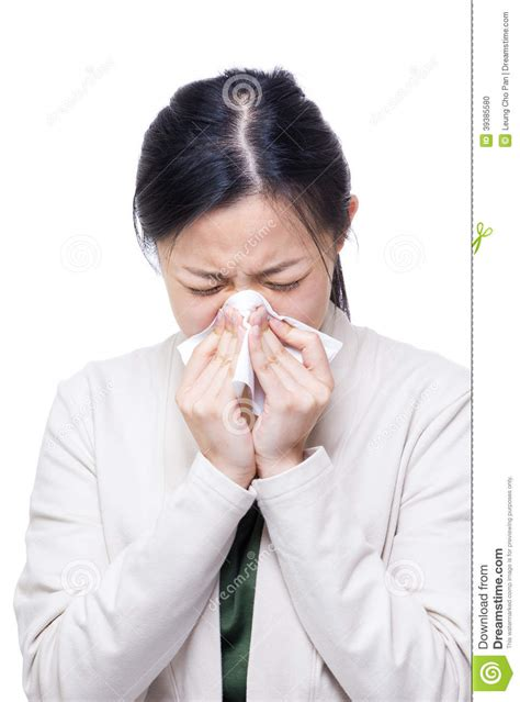 sneezes when excited asian sneeze stock photo image 39385580
