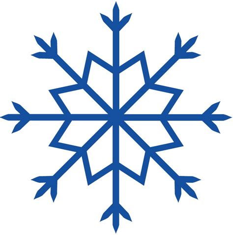 Snowflake Wall Stickers snow flake outline cliparts co