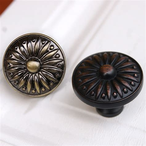 Brass Cabinet Pulls And Knobs by Drawer Knobs Pulls Antique Brass Black Copper Small By Lbfeel