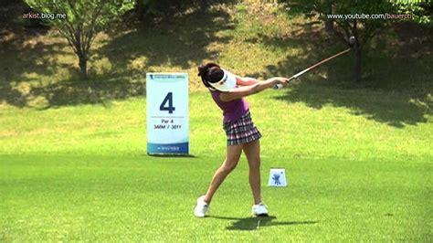 klpga swing slow hd lee sung woon 2012 driver golf swing klpga tour