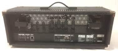 testata valvolare lificatore chitarra bugera 6262 infinium testata