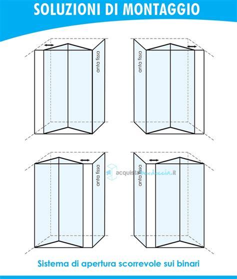 piatto doccia 60x90 box doccia angolare anta fissa porta soffietto 90x90 cm opaco