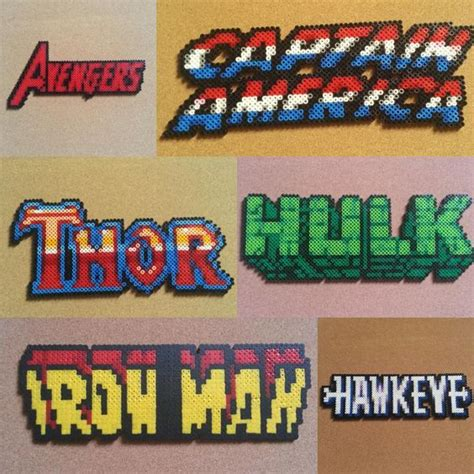 perler names perler marvel and comic books