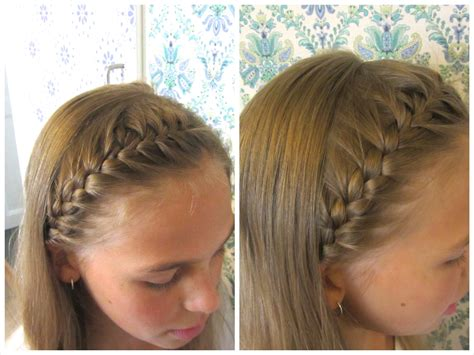 how to do a headband braid step by step diy french braided headband hairandnailsinspiration