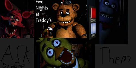 freddys foxy 2 nights at five ask or dare five nights at freddys characters by foxy the